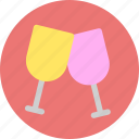 alcohol, beer, beverage, bottle, cheers, drink, wine icon