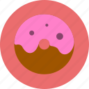 bread, cooking, donuts, food, sweet icon