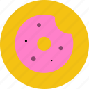bread, dessert, donuts, food, meal, sweet icon