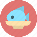 cooking, fish, food, meal, meat, restaurant icon