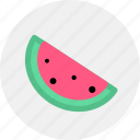 fruit, lemon, tropical, vegetable, watermelon icon