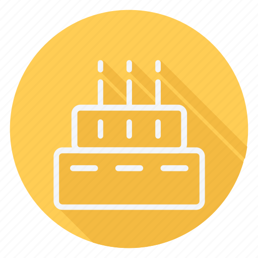 appliance, birthday cake, cake, cooking, dessert, food, sweet icon