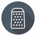 gastronomy, food, cooking, appliance, utensils, kitchen, grater icon