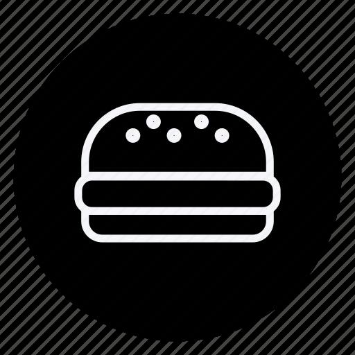 burger, cooking, food, gastronomy, hamburger, kitchen, utensils icon
