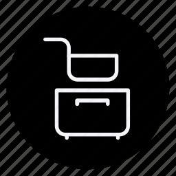 cooking, food, fry pan, gastronomy, kitchen, saucepan, utensils icon