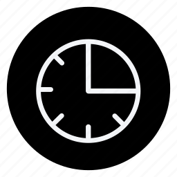 appliance, clock, drinks, food, gastronomy, utensils, watch icon