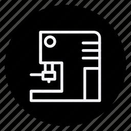 appliance, coffee machine, drinks, gastronomy, kitchen, machine, utensils icon