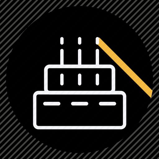 birthcake, cake, cooking, dessert, drinks, fast, food icon