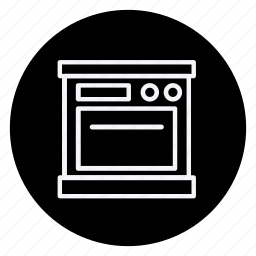 cooking, food, gastronomy, kitchen, microwave oven, oven, utensils icon