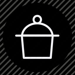 appliance, cooking, drinks, food, kitchen, pot, saucepan icon