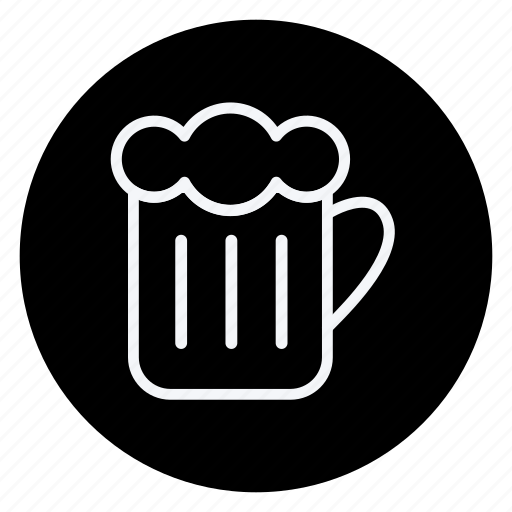 alcohol, beer, beer mug, cooking, drinks, gastronomy, utensils icon