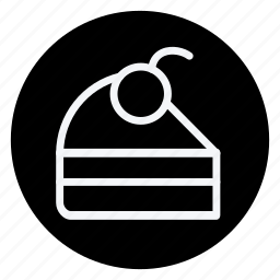 appliance, cake, cake with cherry, cooking, drinks, food, kitchen icon