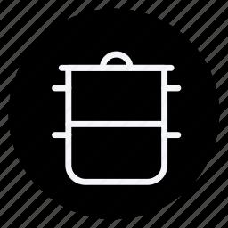 appliance, cooking, food, gastronomy, kitchen, pot, saucepan icon