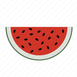 food, fruit, fruits, health, melon, watermelon icon