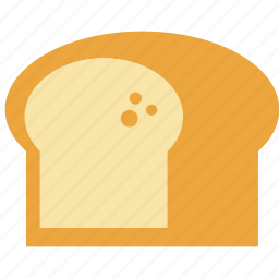 baguette, bread, cereal, fiber, food, health icon