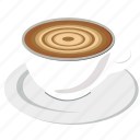 chocolate, coffee, coffee cup, cup, drink, food, hot icon