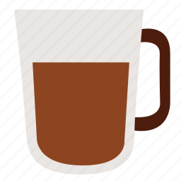 chocolate, coffee, coffee cup, cup, drink, hot, juice icon