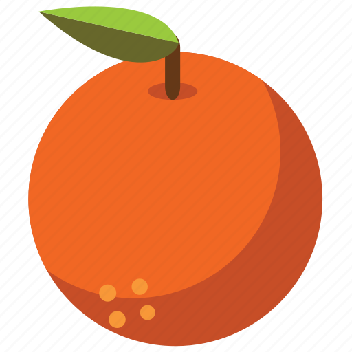 food, fruit, fruits, health, healthy, orange, vegetables icon
