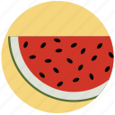 food, fruit, fruits, health, healthy, melon, watermelon icon
