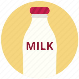 drink, food, glass, health, milk icon