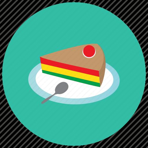 cake, dessert, food, slice, sweets icon