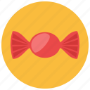 bow, candy, food, snack, sweets, wrapper icon