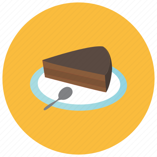 cake, chocolate, dessert, food, slice, sweets icon
