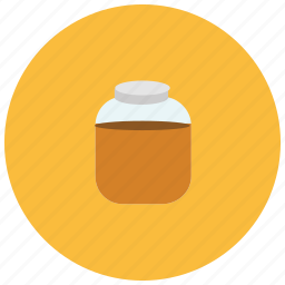 bread, chocolate, food, jar, spread, sweets icon