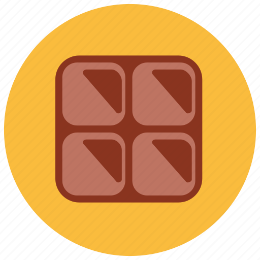 chocolate, dessert, food, piece, sweets icon