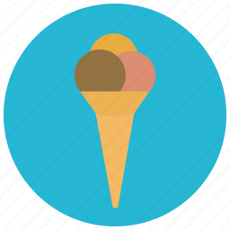 chocolate, cone, food, icecream, strawberry, sweets icon