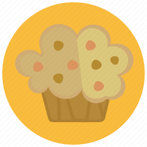 cupcake, dessert, food, pastry, sweets icon