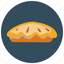 apple, dessert, food, fruit, pie, sweets icon