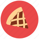 dessert, food, pie, slice, sweets icon