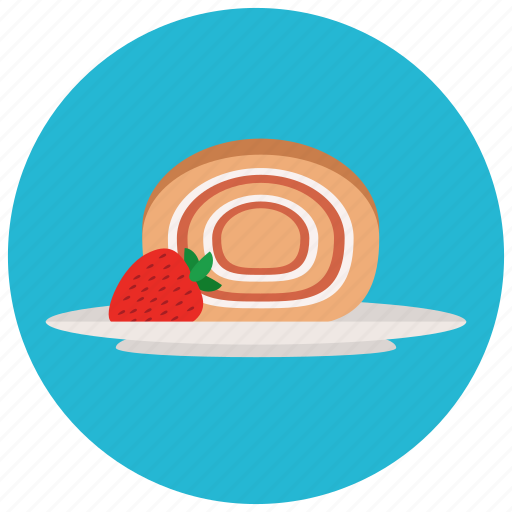 dessert, food, pastry, strawberry, sweets icon