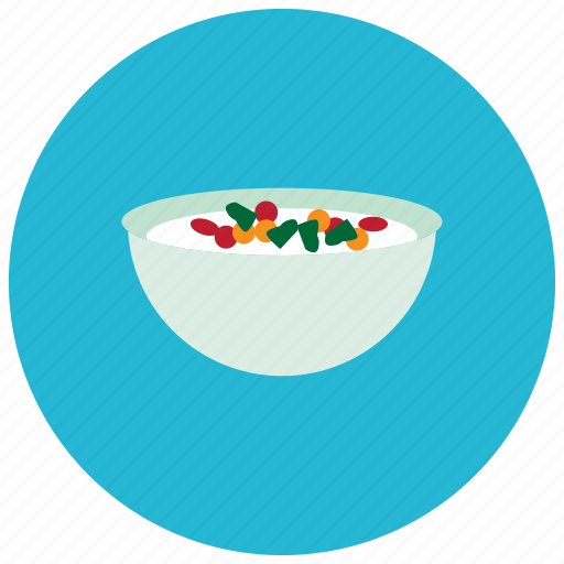 bowl, candy, dessert, food, sweets icon