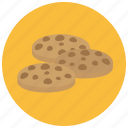 chip, chocolate, cookies, food, sweets icon