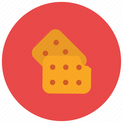 cracker, food, light, salty, snack, sweets icon