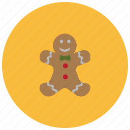 christmas, cookie, food, man, muffin, pastry, sweets icon