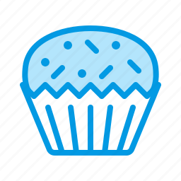 bakery, cupcake, food, muffin icon