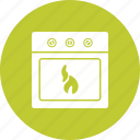 cooking, electric, heat, home, kitchen, oven, stove icon