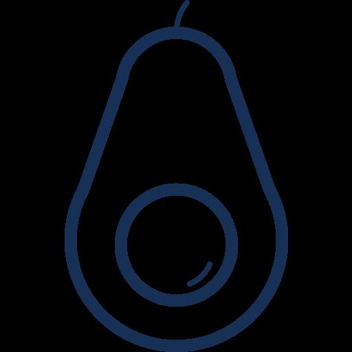 avocado, food, fruit, health, healthy, organic, vegetable icon
