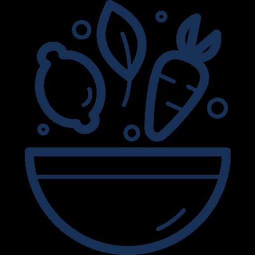 bowl, food, health, healthy, salad, vegetable icon