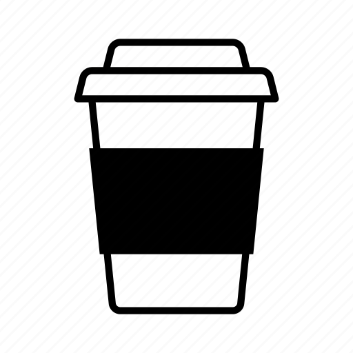 caffeine, coffee, drink, hot beverage, takeaway cup icon