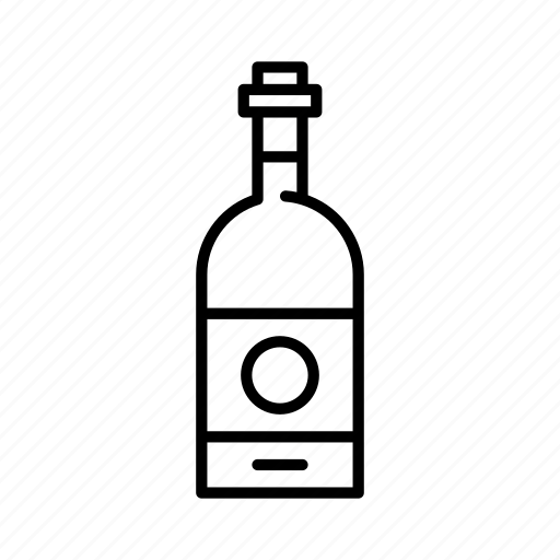 alcohol, bar, booze, bottle, drink, wine icon