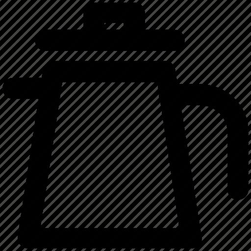 kettle, kitchen utensil, tea, teakettle, teapot, thermos icon