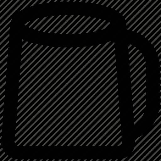 beaker, ewer, jug, jug of water, measurement jug, pitcher icon