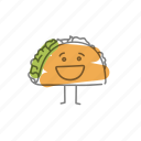characters, food, tacos icon