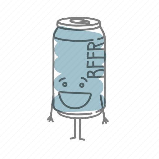 alcohol, beer, characters, drink, food icon