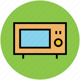 electric stove, electronics, kitchen appliance, microwave, microwave oven, oven icon