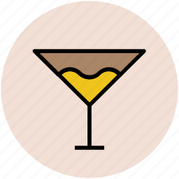 alcohol, cocktail, drink, glass, margarita, martini, wine glass icon